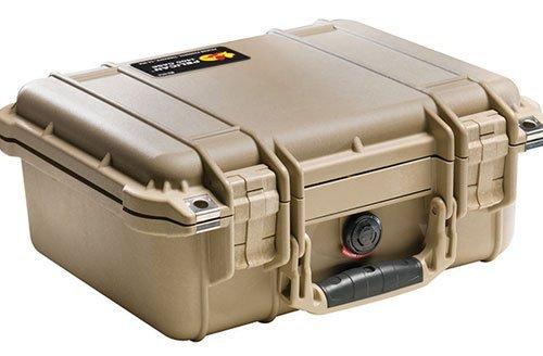 Pelican 1400 Case With Foam (Desert Tan) Pelican 1400 Protector Case