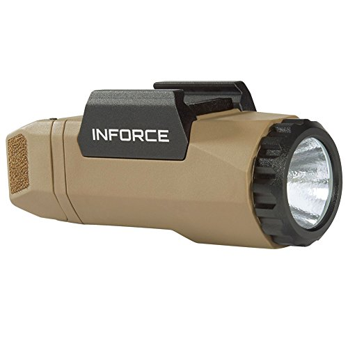 InForce Auto Pistol Weapon Mounted White LED Light 400 Lumens Generation 3 Flat Dark Earth A-06-1