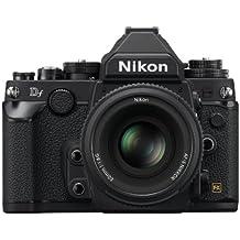 Nikon Df 16.2 MP CMOS FX-Format Digital SLR Camera with Auto Focus-S NIKKOR 50mm f/1.8G Fixed Special Edition Lens (Black)