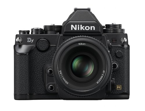 Nikon Df 16.2 MP CMOS FX-Format Digital SLR Camera with Auto Focus-S NIKKOR 50mm f/1.8G Fixed Special Edition Lens (Black) For Sale