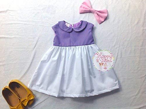 Daisy duck costume Girls daisy duck dress Halloween girl costume5 -
