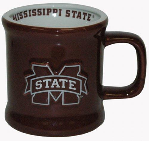 NCAA Mississippi State Bulldogs Mug Ceramic Relief (Bulldogs Game Day Ceramic)