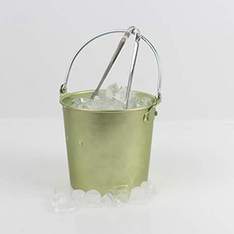 Qujifangjt Champagne Ice Bucket, Acero Inoxidable Wine ...