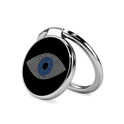 Evil Eye Symbol Phone Ring Stand Holder Grip Mounts, Universal 360 Rotation Smartphone Finger Ring Grip Stand with for iPhone Samsung LG Moto iPad Case-SunbirdsEast