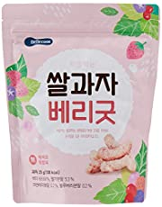 BeBecook Wise Moms Rice Snacks (Berries), 25g