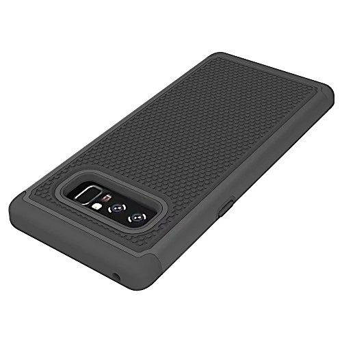 Galaxy Note 8 Case,Berry (TM) [Drop Protection] Protective Case [Shock Proof] [Dual Lawyer] Hybrid Defender Armor Case Cover For Samsung Galaxy Note 8 (2017)