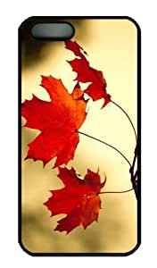 Case For Samsung Galaxy S3 i9300 Cover - Customized Unique Design Red Oak Leaves Close Up New Fashion PC Black Hard