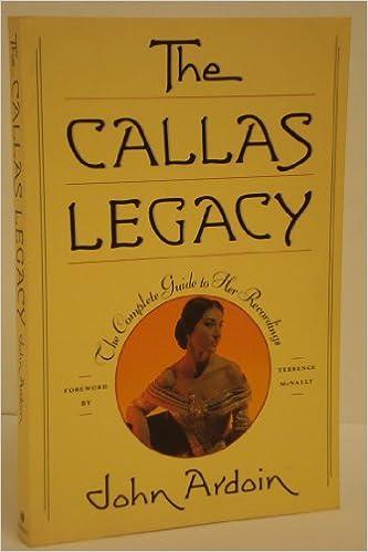 The Callas Legacy