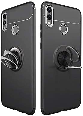 Huawei Honor 8X Finger Ring Kickstand TPU Mobile Case Cover