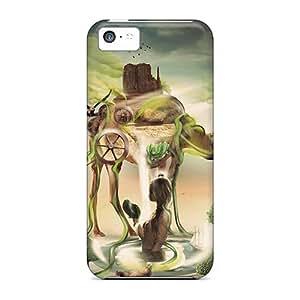 Hot EBdJFHz1554iEEEr Case Cover Protector For Iphone 5c- Desktopography H12
