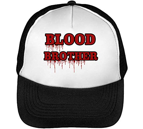 Fashioned Snapback Brother Gorras Blood Red Negro Hombre Blanco Beisbol Blood Yatwn4xOq
