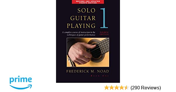 Amazon Com Solo Guitar Playing Book 1 4th Edition 0752187995128