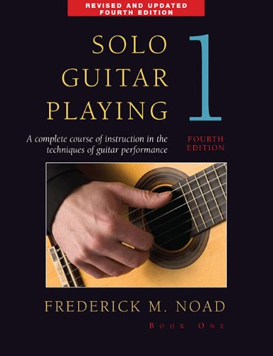 Solo Guitar Playing   Book 1  4Th Edition