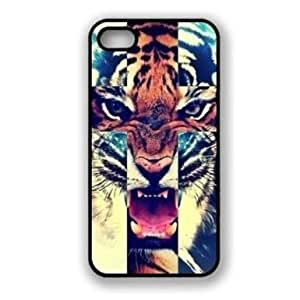 Tiger Roar Cross Hipster Quote Hard Rigid Plastic Case For Apple Iphone 5 5S 5G Skin Protector Accessory