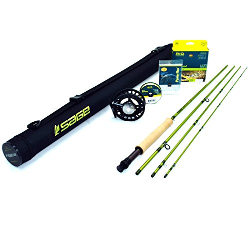 Sage PULSE 490-4 Fly Rod Outfit (4wt, 9'0, 4pc)
