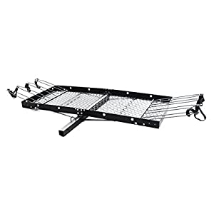Tow Tuff TTF-2762KR Steel Cargo Carrier with Bike Rack