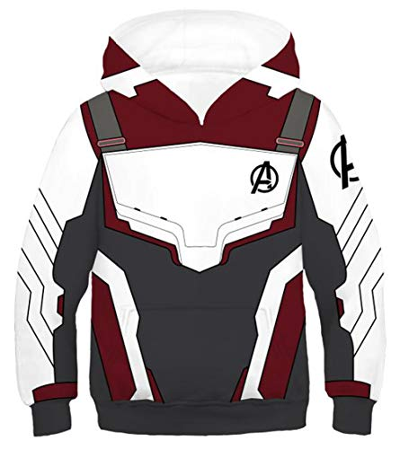 Riekinc Superhero Hoodie Kids Sweatshirt Jacket Halloween Cosplay Costume -
