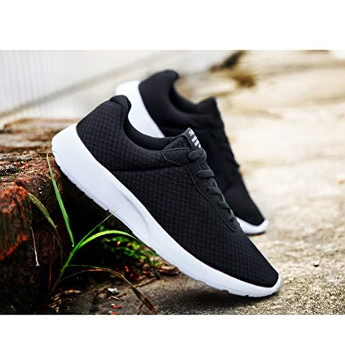 Per Uomo Sneakers Jogging A Outdoor Sport Maglia Basket Scarpe Running Piedi Nero Qianliuk Atletica Allenatori OABRRxq