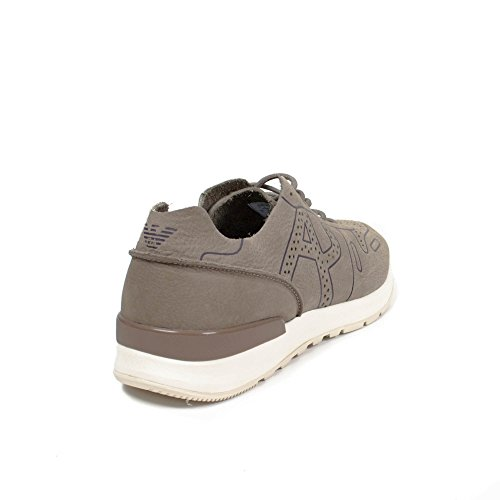 Armani Jeans Sneakers Man 935062 7P421 + 04151 Taupe EG007935062-7P42104151_44