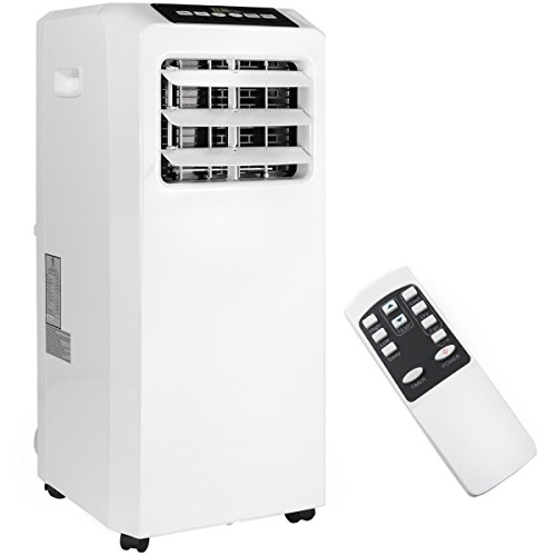 Ensue 8,000 BTU 3 in 1 Portable Air Conditioner, Dehumidifier, Fan w/ Vent Kit