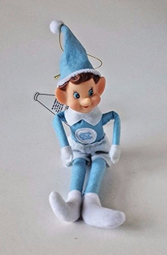 Oxbay North Carolina UNC Tarheels Christmas ELF Pixie 12