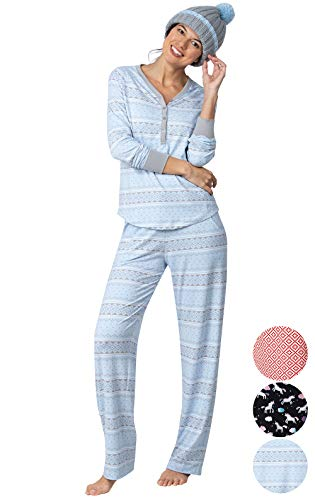 9a33e36d2d Addison Meadow Gifts for Women - Womens Pajama Sets with Hat