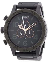 Nixon Men's 51-30 Chrono A0831530 Black Stainless-Steel Quartz Watch