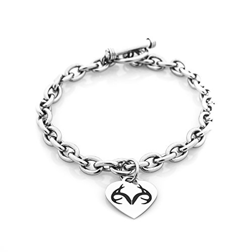 Apg Arrows (Silver Realtree Heart Bracelet (stainless-steel))