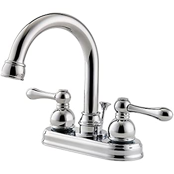 "Pfister LF-048-LHCC Wayland 2-Handle 4"" Centerset Bathroom Faucet in Polished Chrome, 1.2gpm"