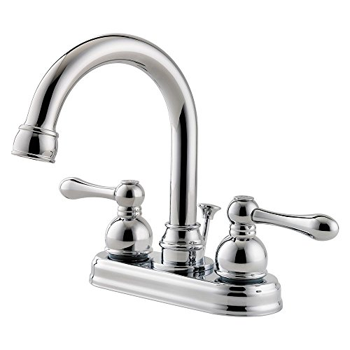 """Pfister LF-048-LHCC Wayland 2-Handle 4"""" Centerset Bathroom Faucet in Polished Chrome, 1.2gpm outlet"""