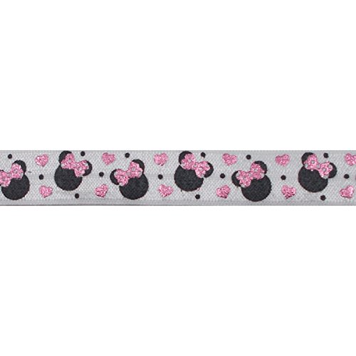 5 Yards of Minnie Mouse Elastic - 5/8