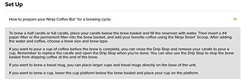 Ninja Coffee Bar Brewer System with Glass Carafe (CF091) by SharkNinja (Image #5)