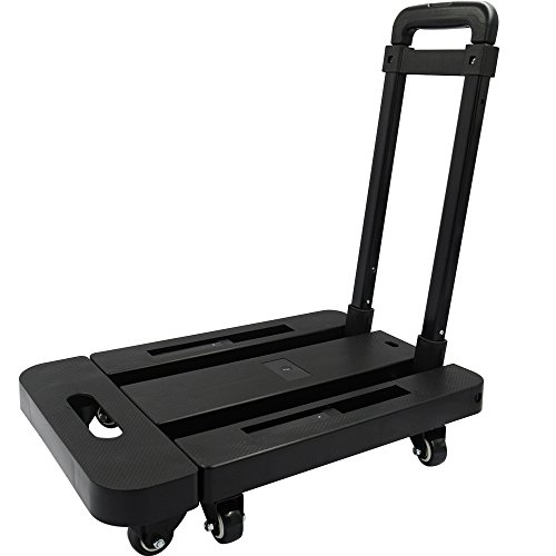 Yoler-Exclusive-Scalable-platform-cart-Folding-hand-truck-and-Dolly6-wheels440bl-capacity