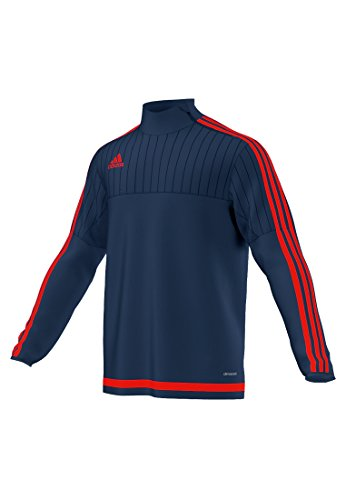Adidas Tiro 15 Mens Training Top M Black-White (Turtleneck Soccer)