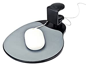 Aidata Mouse Platform Under Desk Ergonomic With Built In