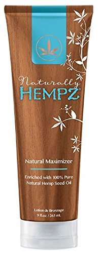 Naturally Hempz, Natural Maximizer, Tanning Lotion 9 Ounce by Hempz