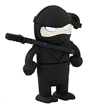 16GB Falta Ninja Modelo Pen Drive USB Flash Drive Tarjeta Flash Cartoon U Disco Flash Memory Stick