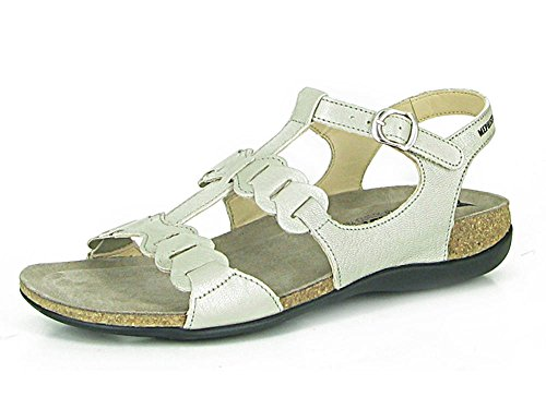 Mephisto Axel Ladies Sandal EU Size 42 Nickel