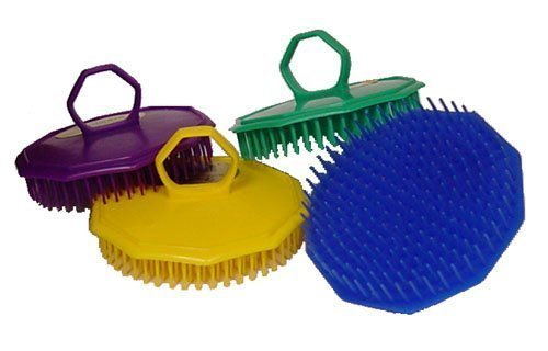 (Shampoo Scalp Massage Brush - 4 Brushes)