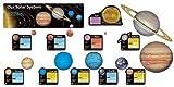 School Science Topic Bulletin Classroom Display Set - Solar System (26 piece set) by TREND ENTERPRISES INC.