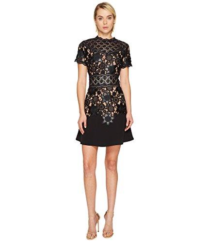 解き明かすラベンダー集中[ザ クープルス] The Kooples レディース Short Sleeve Dress with Lace Detail On The Top and Waist ドレス [並行輸入品]
