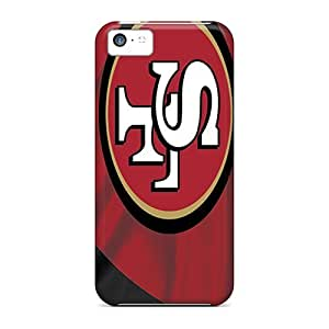 Hard Plastic Iphone 5c Case Back Cover,hot San Francisco 49ers Case At Perfect Diy