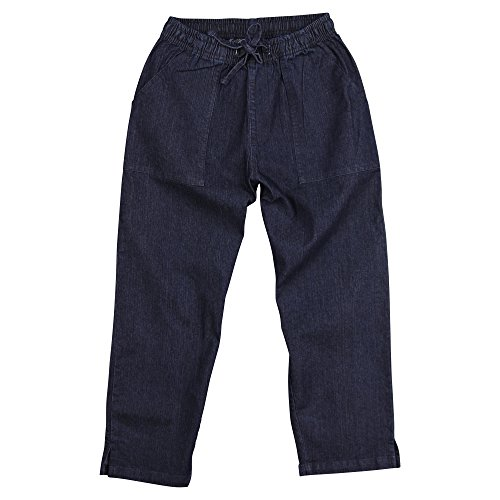 Urban Boundaries Womens Cotton Elastic Waist Capri Pants