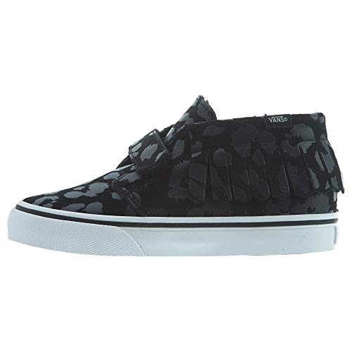 - Vans Chukka V Moc (Leopard Suede) Toddlers Style: VN000308-ONX Size: 10 Black