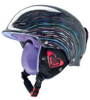 Roxy Power Powder 2013 - Casco para mujer, multicolor