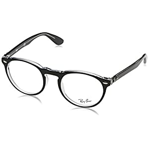 Ray-Ban Glasses 5283 2034 Black 5283 Round Sunglasses