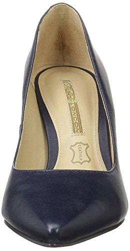 Buffalo London ZS 2990-13 Damen Pumps Blau (MARINHO 06)