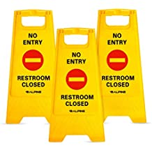 Caution Safety Construction Amp Wet Floor Signs Amazon