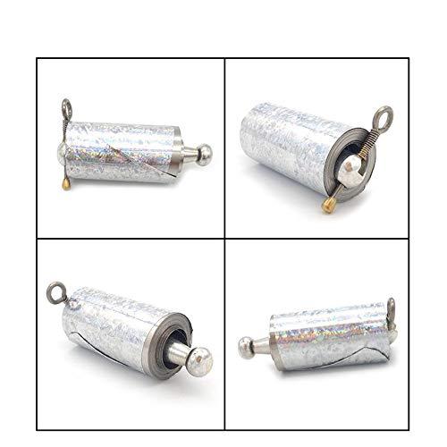 per Arti Marziali Tasca Peanutaso Asta telescopica Portatile Bacchetta Magica Barra di Difesa Personale in Metallo
