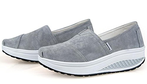 GFONE - Zapatos de tacón  mujer gris